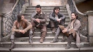 THE MUSKETEERS Insider: Story arcs for Aramis, Athos, Porthos, & D