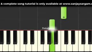 Kal Ho Na Ho - Piano Tutorial (Single Handed)