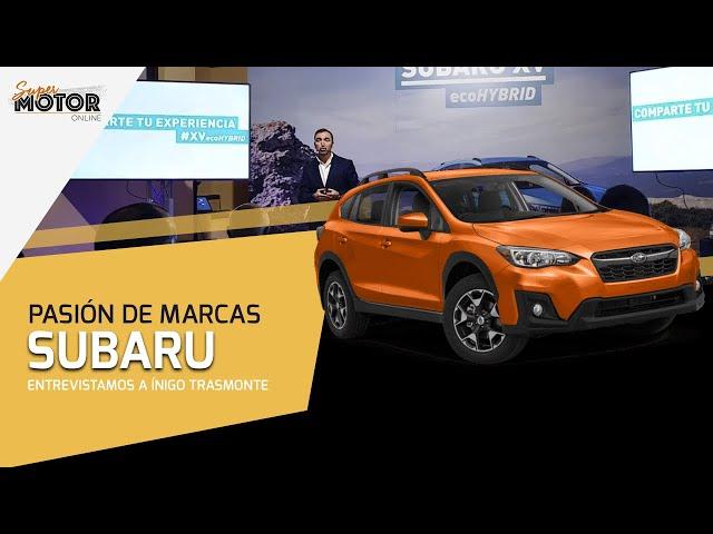 Pasión de Marcas: Subaru / Entrevista a Íñigo Trasmonte / SuperMotor.Online