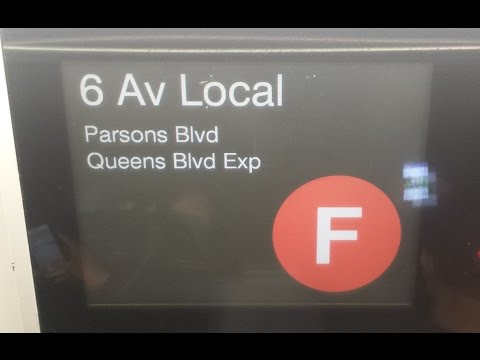 On Board Parsons Boulevard Bound R160 (F) Train From Lexington Ave-63rd Street to Parsons Boulevard