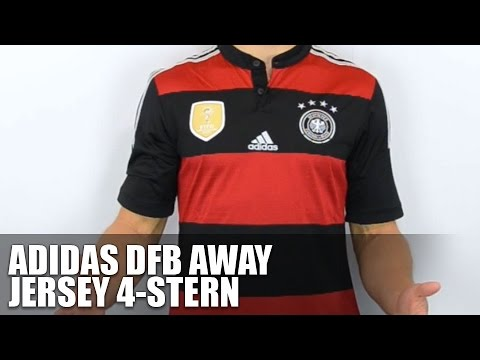 Adidas DFB Trikot Away 4 Sterne - Review