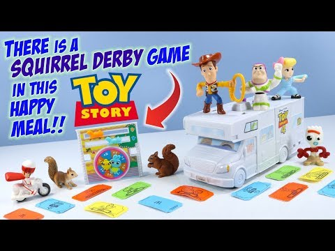 Toy Story 4 McDonalds Happy Meal Toys Full Set Build an RV! 2019