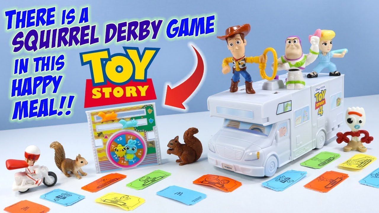 Toy Story 4 McDonalds Happy Meal Toys Full Set Build an RV ...