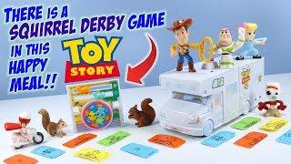 Історія іграшок 4 Макдональдс Хеппі Міл іграшки повний комплект побудувати будинок на колесах! 2019