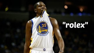 """Kevin Durant- """"Rolex"""""""