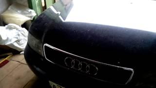 как открыть капот ауди а4 95 года выпуска[Очень Простой Способ] /how to open a hood Audi A4 95 year/