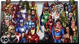 Top 10 Best Superheroes