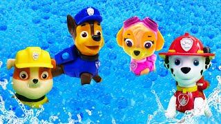New Paw Patrol Ultimate Rescue Episodes in English - Paw Patrol mighty pups at the swimming pool.