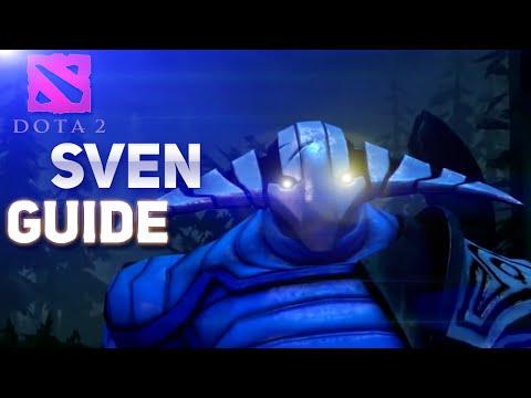 видео: dota 2 Гайд по герою - sven - Рыцарь разбойник с большим... мечем!