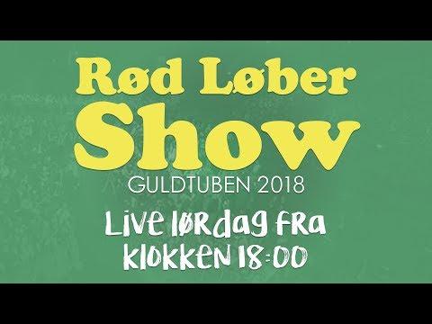 Rød løber før Guldtuben 2018 LIVE kl. 18.00