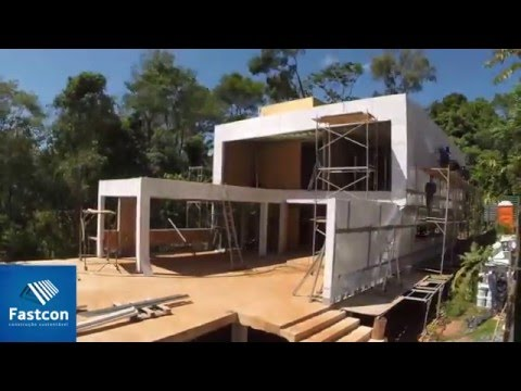 Casa Steel Frame Time Lapse