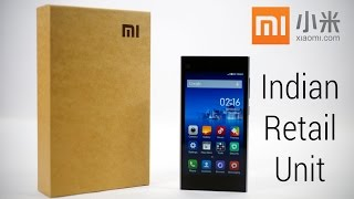 Xiaomi Mi3 (Indian Retail Unit) - Unboxing & Hands On