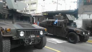 Desfile militar y policial 2017 MEJICANOS san salvador EL SALVADOR