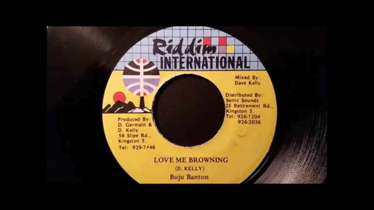 """Download Buju Banton - Love Me Browning - Riddim Intl 7"""" w/ Version"""