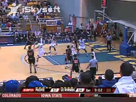 2009-2010 Pacific Mens Basketball Highlight