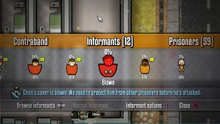 Prison Architect PS4 Tips - How To Use Informants / How To Recruit Informants