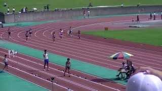2013静岡中部中学新人共通女子200予選1組