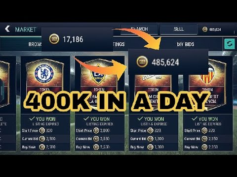 FIFA MOBILE~ TEAM HEROES 400K COIN MAKING TRICK !! MAKE 400K IN A DAY !!