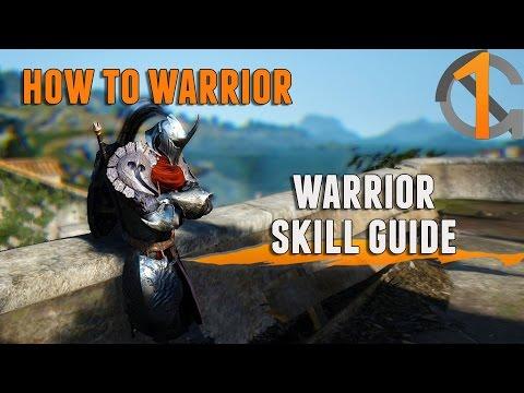 Black Desert - How to Warrior: Warrior Skill Guide