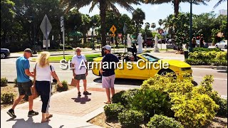 St Armand's Circle  - Two-Minute Tour - Sarasota, Fl