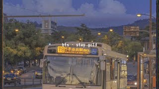 Stay Gold Bts Slowed Free MP3 Song Download 320 Kbps