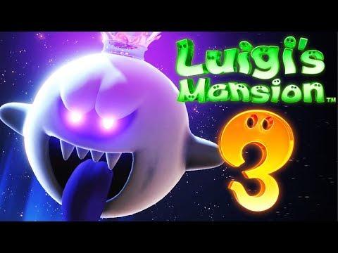 Finaler Kampf mit König Buu Huu!   Luigis Mansion 3 (Part 20 / FINALE) - Zombey
