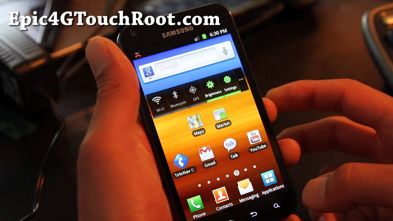 How to Root Epic 4G Touch! | Epic 4G Touch Root