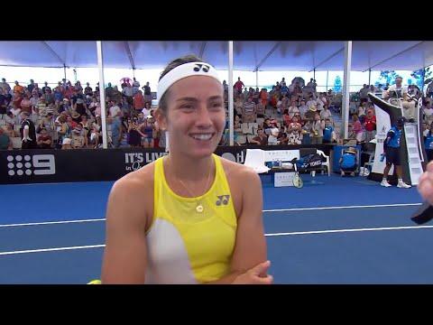 Anastasija Sevastova on-court interview (1R) | Brisbane International 2019