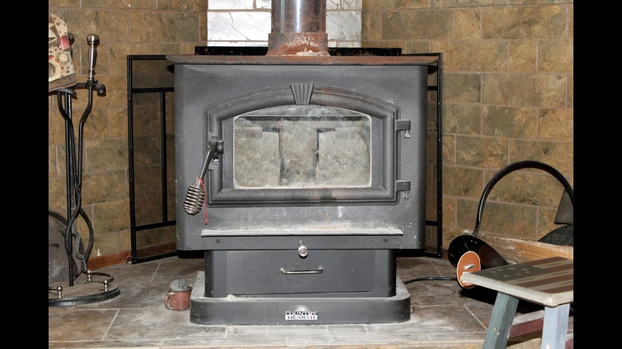 United States Wood Stove Model 2000 Review Youtube
