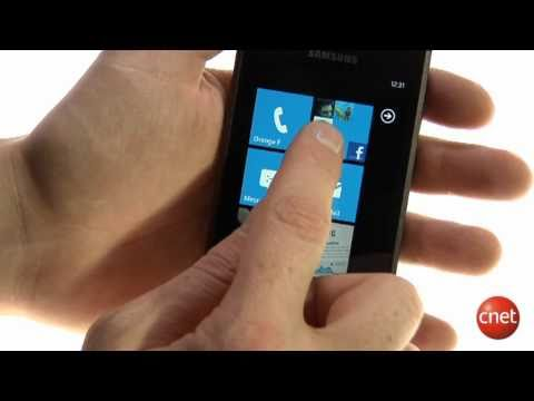 Samsung Omnia 7 sous Windows Phone 7