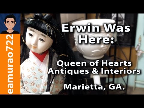 Queen of Hearts Antiques & Interiors Marietta, GA - Erwin Was Here