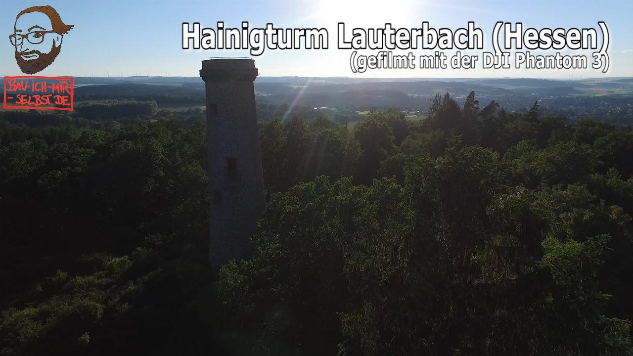 Rundflug Um Den Hainigturm In Lauterbach Youtube