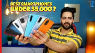 Top 7 Best Android Smartphones💪 Under Rs.35,000💰 in India [AUGUST 2020]