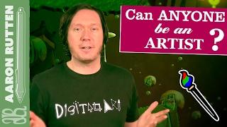 Can ANYONE be an Artist? - Digital Artist Vlog 🎨