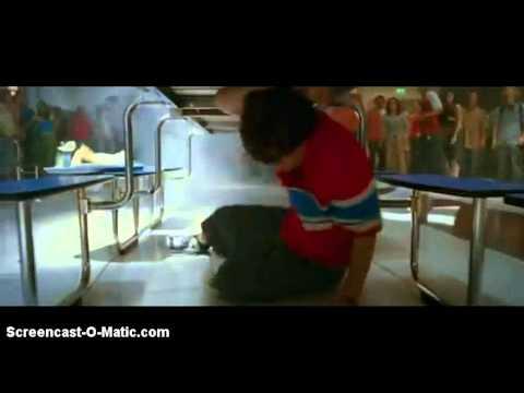 Sky High (2005) Movie Scene - Will Stronghold Vs Peace [Cafetaria Fight Scene]