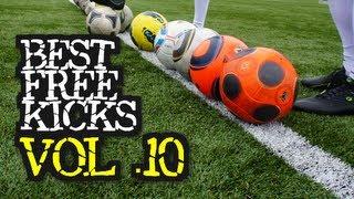 Best Free Kicks Montage | Vol.10 | Power Knuckleballs, Dips & Topspin Goals | freekickerz