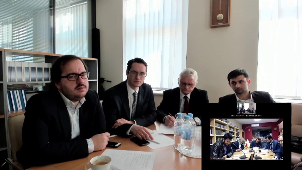 Видеоконференция РСМД и IRAS «Россия и Иран на современном Ближнем Востоке в постигиловский период»
