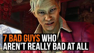 Top 7: Bad Guys who aren't really bad at all