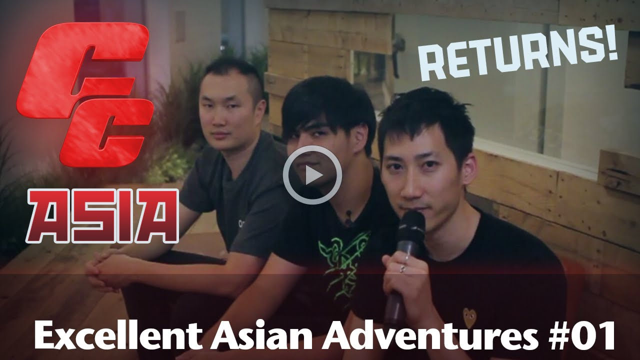 Excellent Asian Adventures #01 w/@zhieeep, @xianmsg & @infiltration85
