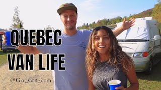 Vlog #5 - Van Life Meet Up In Quebec