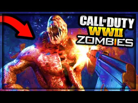 Call of Duty WORLD WAR 2 ZOMBIES GAMEPLAY TRAILER! (Call of Duty WW2 ZOMBIES TRAILER REVEAL) COD WW2