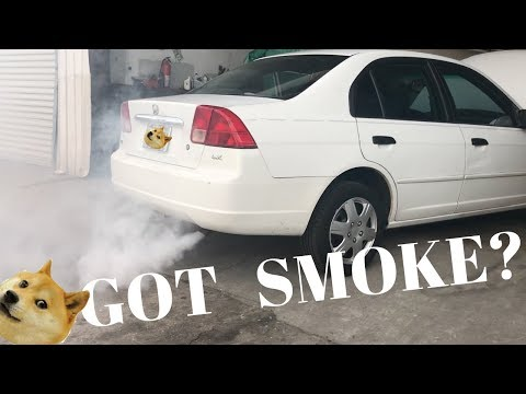 DOES SEAFOAM WORK? Honda Civic Smoke Show & Just Chillin At The Shop