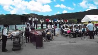 石垣第二中学校 マーチングバンドin石垣島ダム祭り