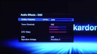 Setting Up a Harman Kardon Receiver using the High Definition Interface