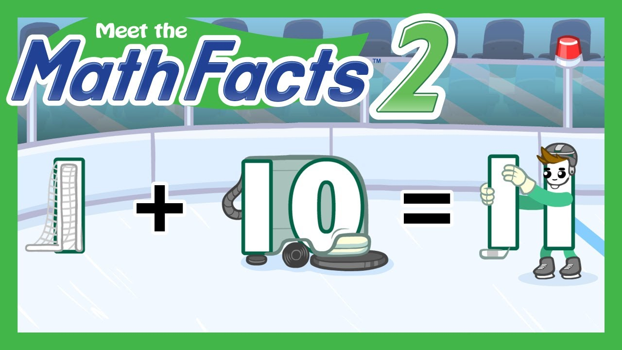 Meet the Math Facts Level 2 - 1+10=11 - YouTube