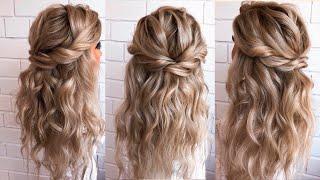 Wedding hairstyle | Прическа Мальвинка