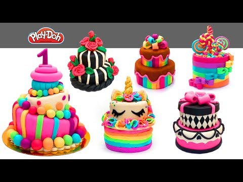 Amazing Cakes Compilation. DIY How To Make Play Doh Cake Decoration. Best 2019