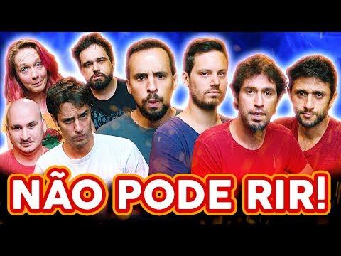 NÃO PODE RIR! com BARBIXAS - o RETORNO! Anderson Bizzocchi, Daniel Nascimento e Elidio Sanna