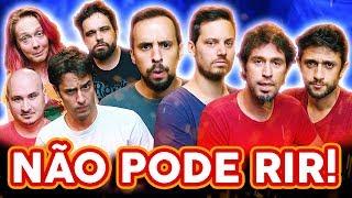 Baixar NÃO PODE RIR! com BARBIXAS - o RETORNO! Anderson Bizzocchi, Daniel Nascimento e Elidio Sanna