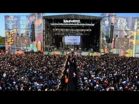 Multidão grita nome de Lula em festival internacional de rock. Vídeo.